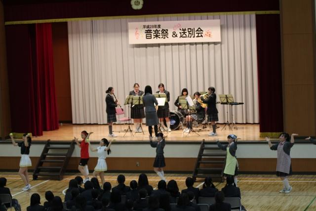 音楽祭送別会②